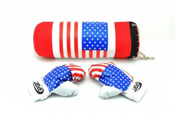 Detský boxovacie vrece TEDDIES USA II