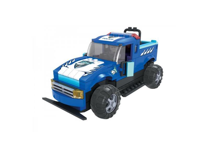 StavebnicaRC MODEL DROMADER policajné auto