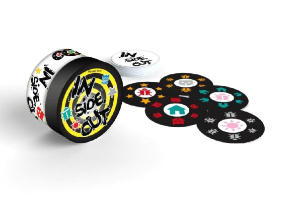 Hra kartové BONAPARTE IN SIDE OUT detská