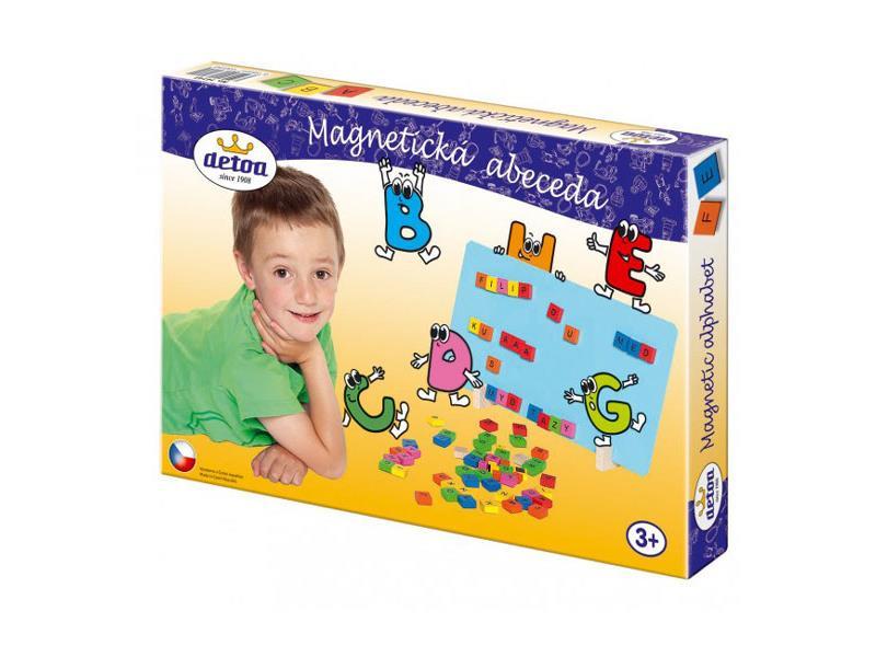 Detské magnetické puzzle DETOA Abeceda