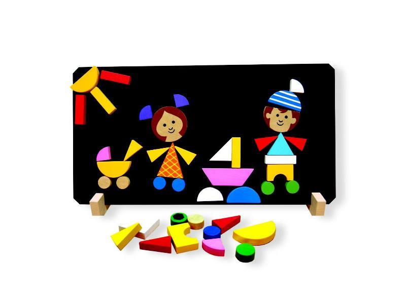 Detské magnetické puzzle DETOA Deti