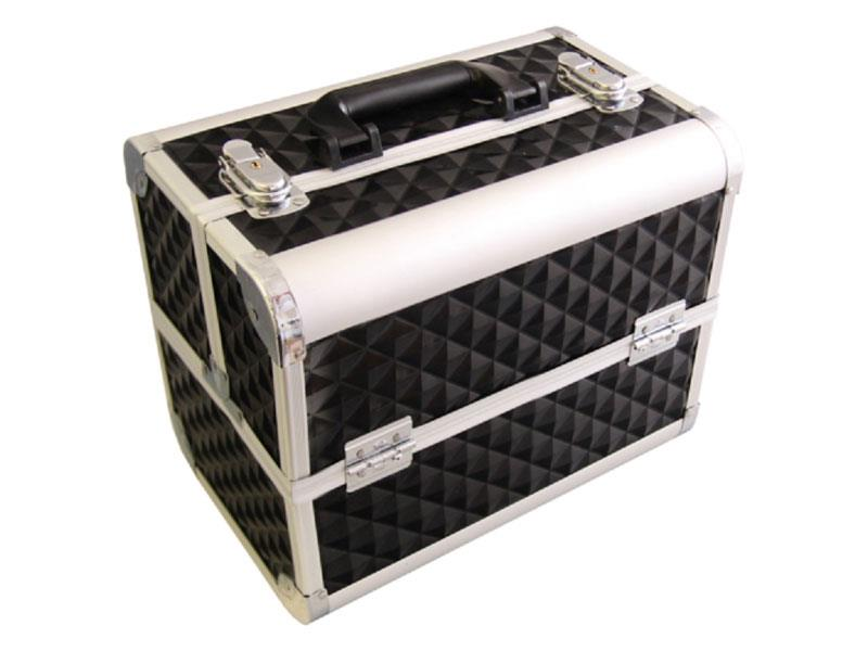 Kufrík kozmetický PROTEC hliník mozaika