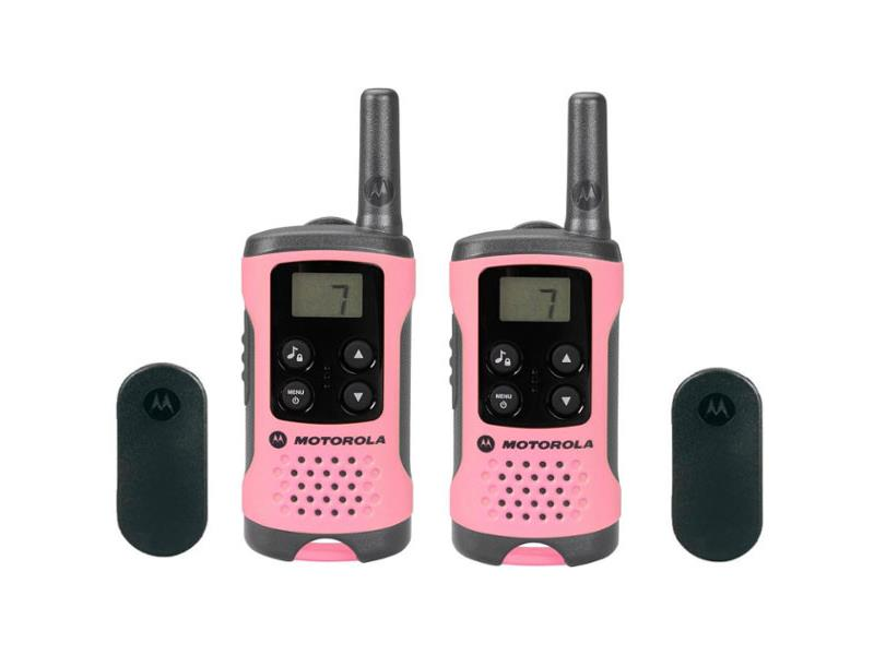 Vysielačky MOTOROLA TLKR T41 ružová