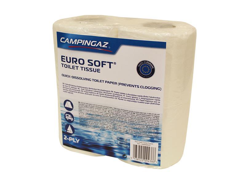 Papier toaletný CAMPINGAZ EURO SOFT pre chemické toalety 4 role