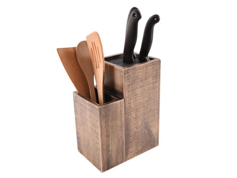 Stojan na nože a kuchynské náčinie ORION hranatý
