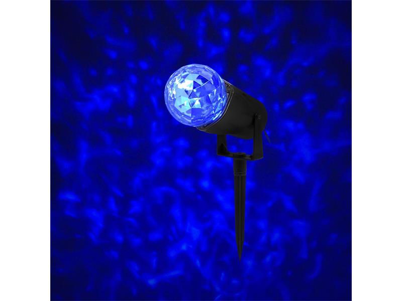 Projektor RETLUX RXL292 BLUE s efektom vodných vĺn