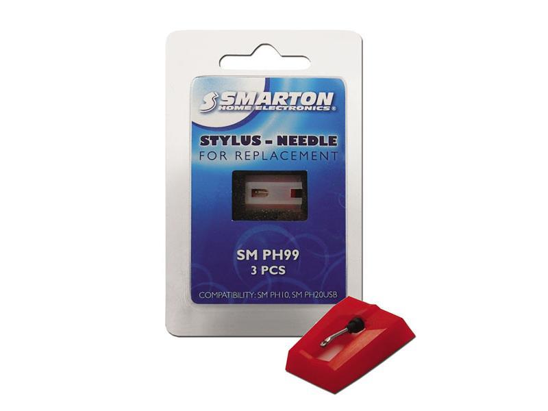Náhradné ihly SMARTON SM PH99 (3ks) pre gramofón