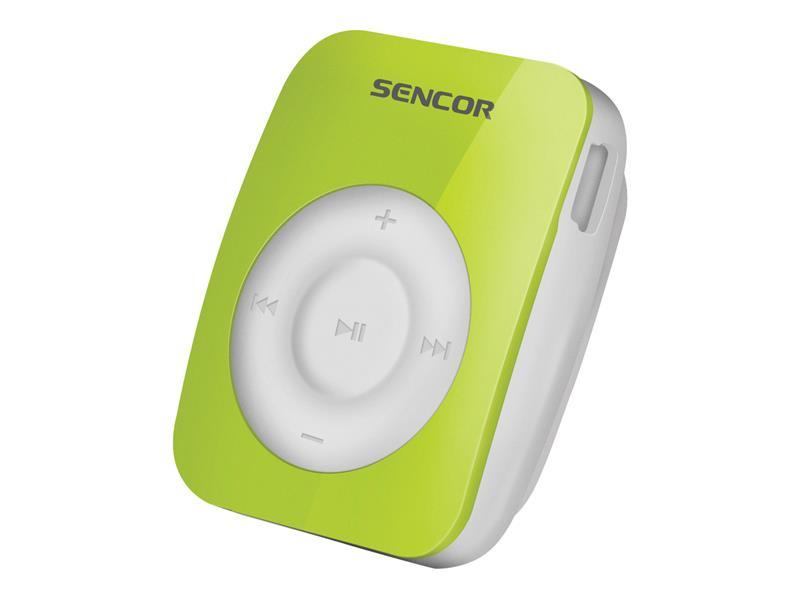 Prehrávač MP3 SENCOR SFP 1360 GN 4GB