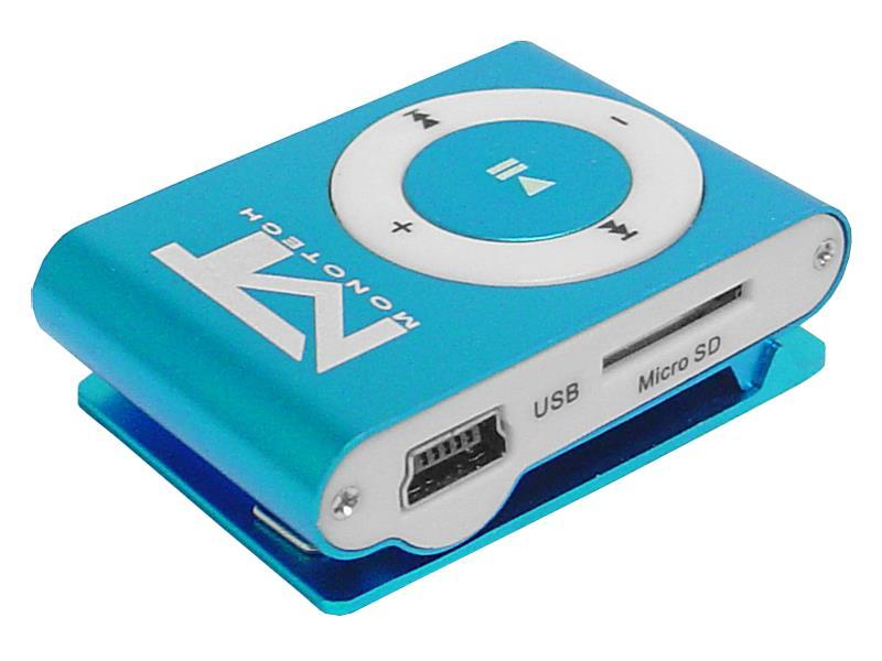 Prehrávač MP3 MonoTech BLUE
