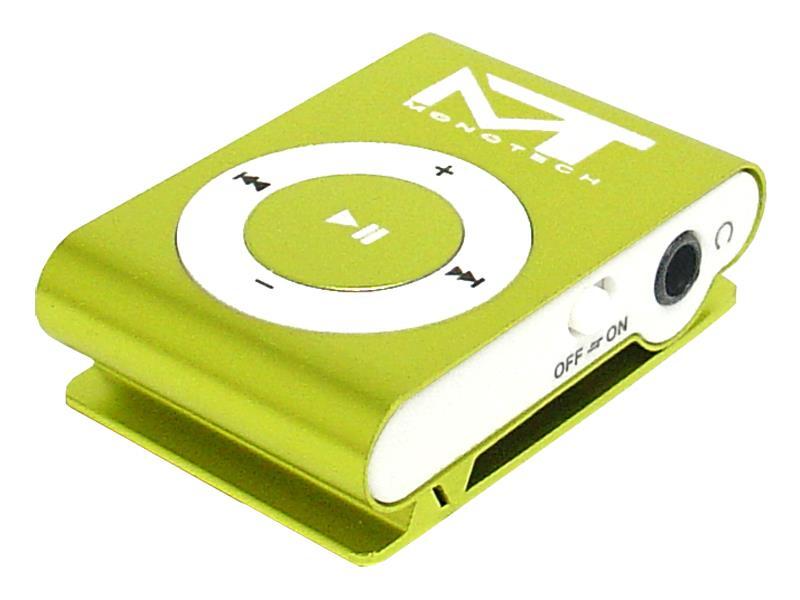Prehrávač MP3 MonoTech GREEN