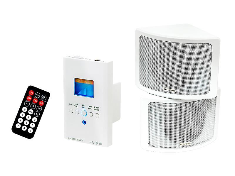 Audio systém nástenný BLOW NS-02, diaľkové ovládanie