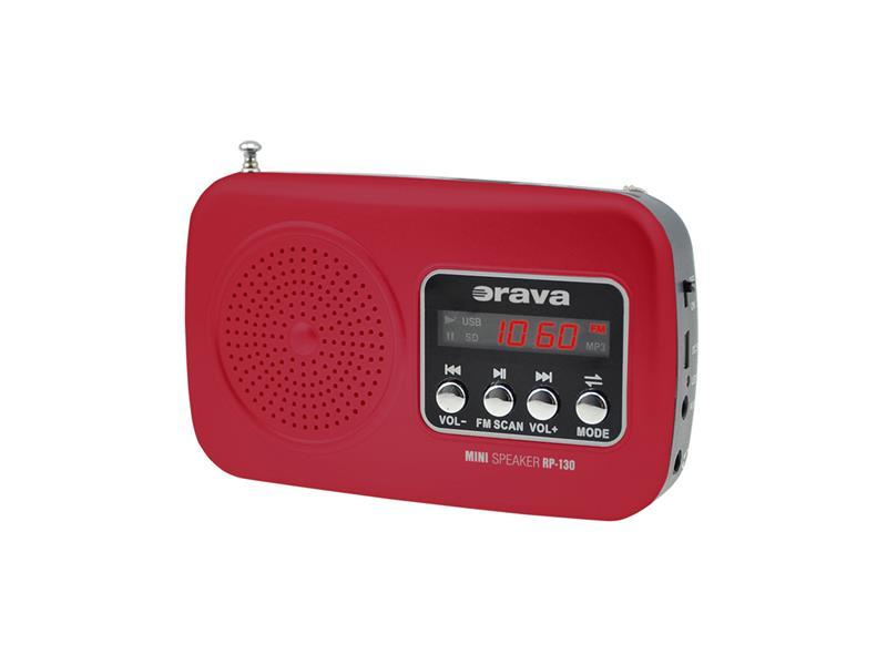 Prenosný rádioprijímač ORAVA RP-130 R SHsk