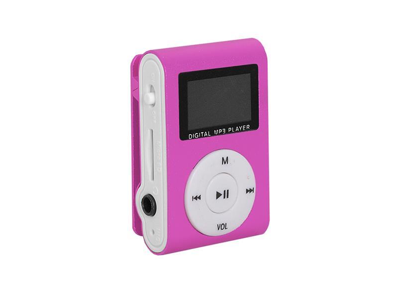 Prehrávač MP3 SETTY LCD ružová
