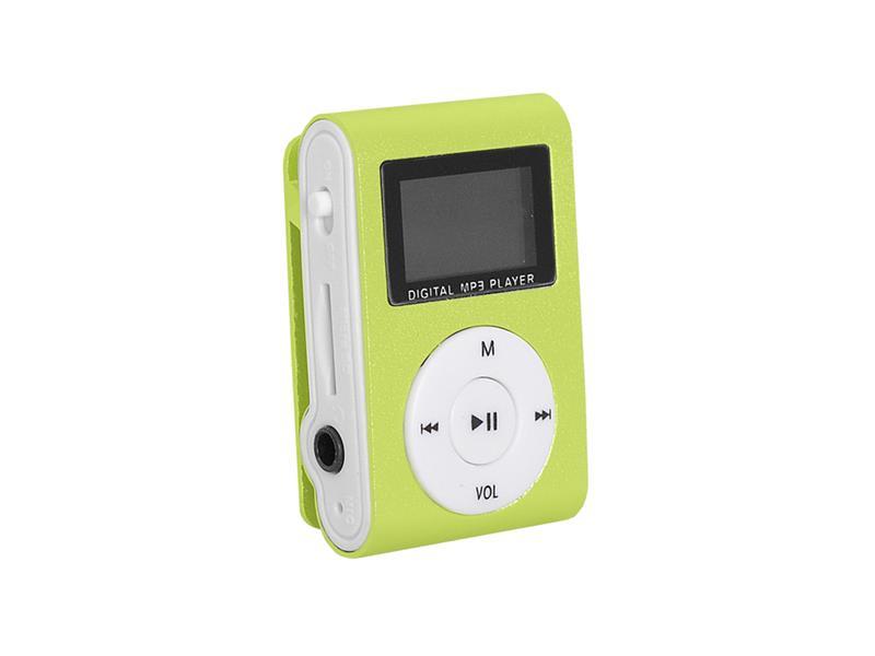 Prehrávač MP3 SETTY LCD zelená
