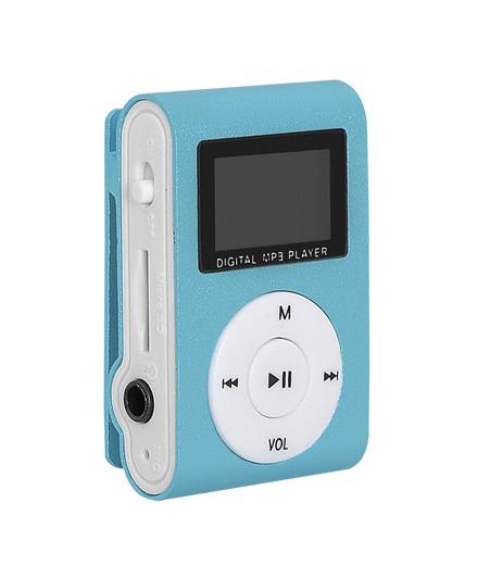 Prehrávač MP3 SETTY LCD modrá