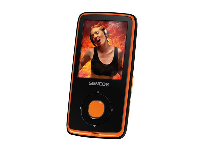 Prehrávač MP3/MP4 SENCOR SFP 6270 OR 8GB