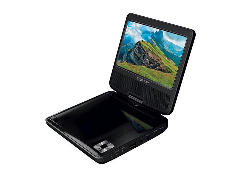 DVD přehrávač SENCOR SPV 2722 BLACK přenosný