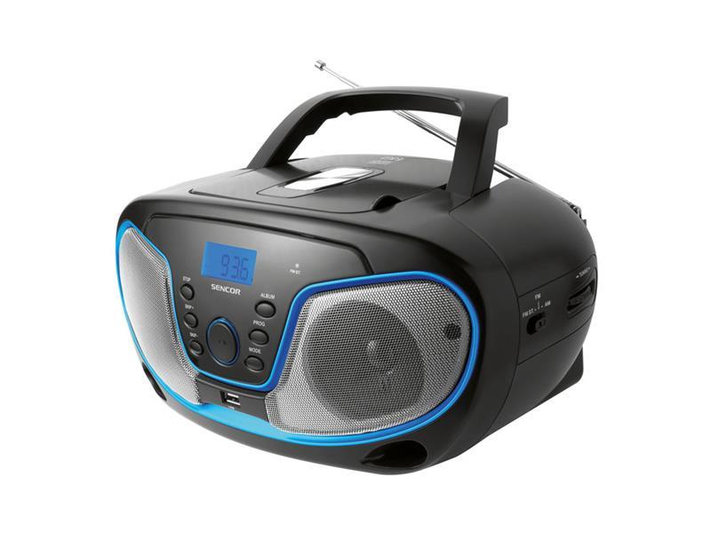Rádio s CD/USB/MP3 SENCOR SPT 231