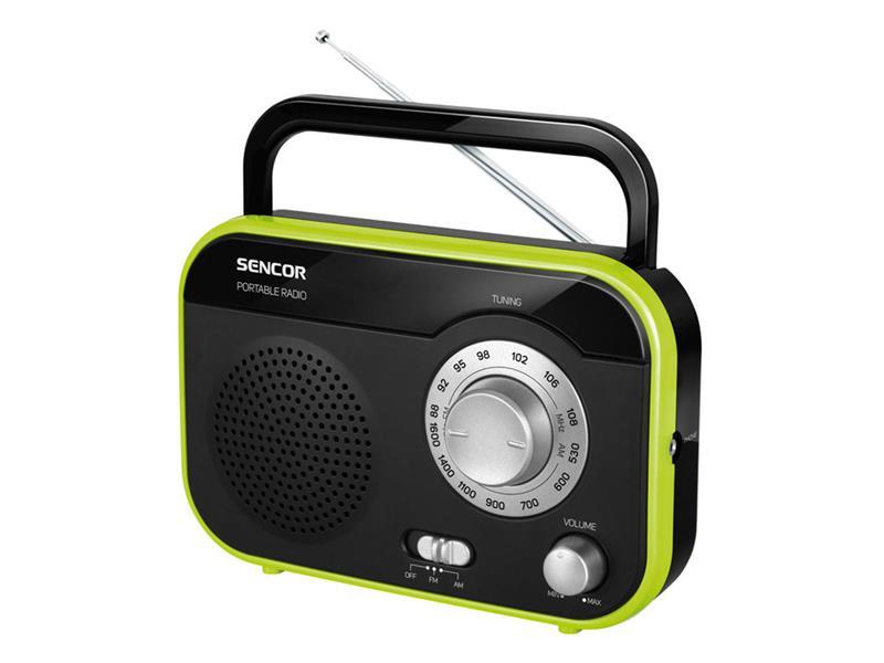 Prenosný rádioprijímač SENCOR SRD 210 BGN