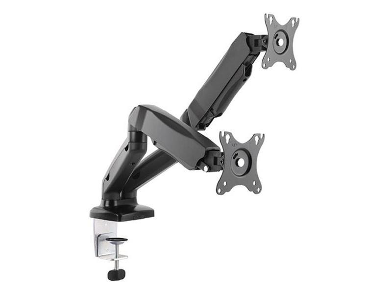Držák monitoru stolní 1M53 dvouramenný od 33 - 68cm (13'' - 27'')