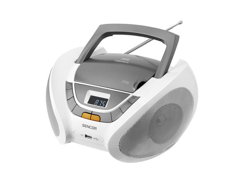 Rádio s CD/USB/MP3/SD SENCOR SPT 232
