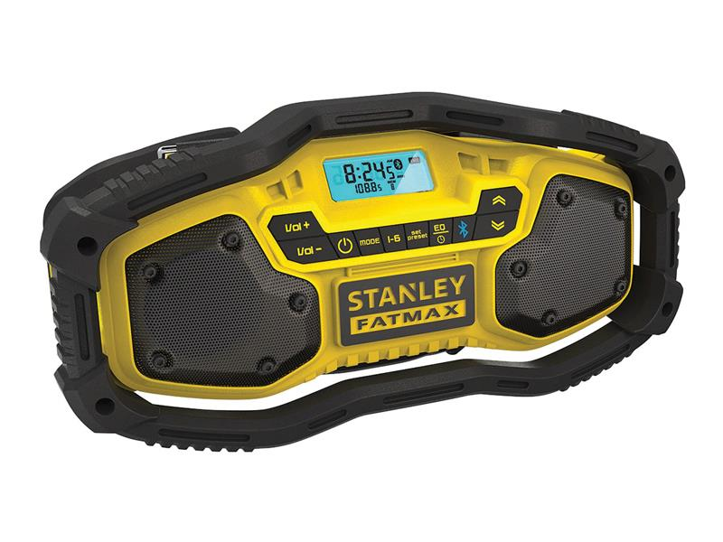 Rádio outdoorové AKU BLUETOOTH STANLEY FATMAX FMC770B bez akumulátora