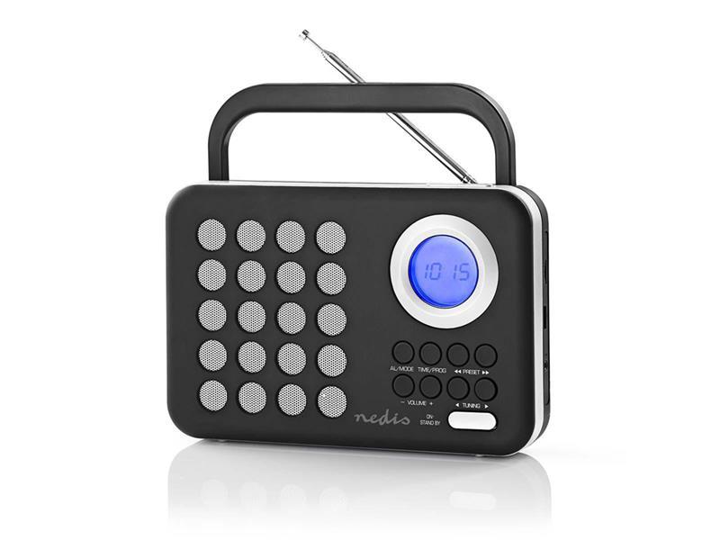 Rádio FM / USB / MICRO SD NEDIS RDFM1310WT BLACK / WHITE