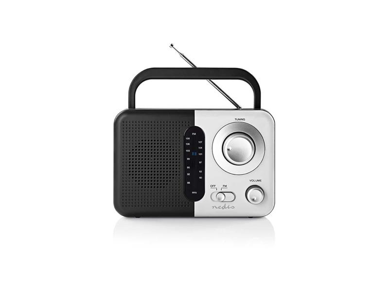 Rádio FM NEDIS RDFM1300WT BLACK / WHITE