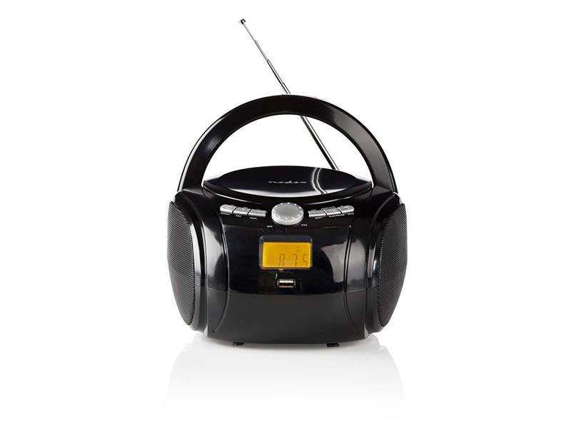 Rádio FM / USB / CD / BLUETOOTH NEDIS SPBB100BK BLACK