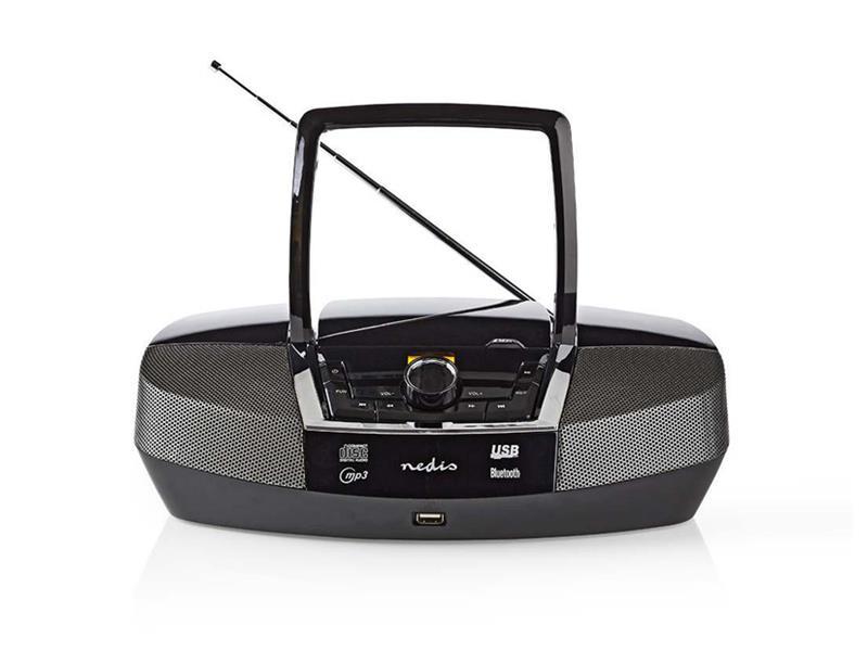 Rádio FM / USB / CD / BLUETOOTH NEDIS SPBB200BK BLACK