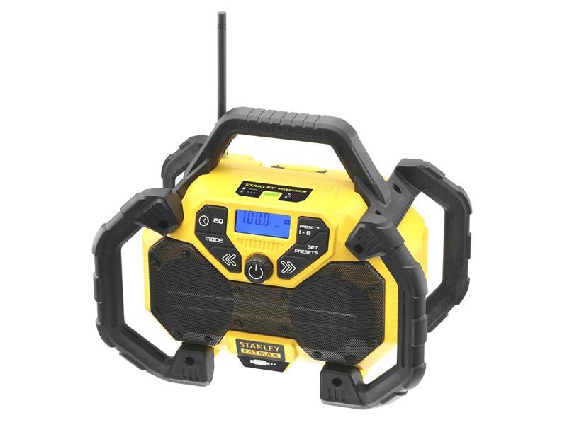 Rádio outdoorové AKU STANLEY FATMAX FMCR001B bez akumulátora