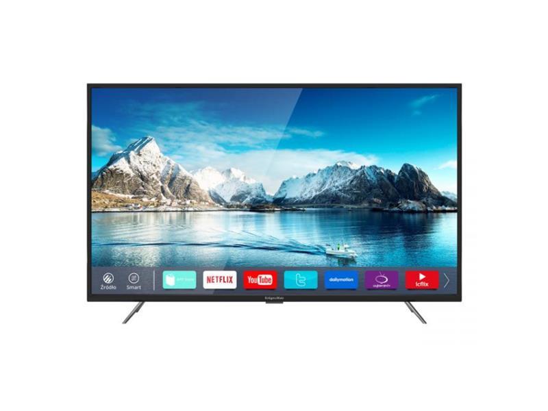 """Televizor LED KRUGER & MATZ 43"""" KM0243UHD-S3, DVB-T2 H.265 SMART TV"""