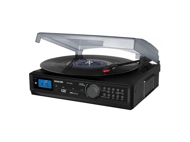 Gramofón Sencor STT 212U USB / SD / FM / BT