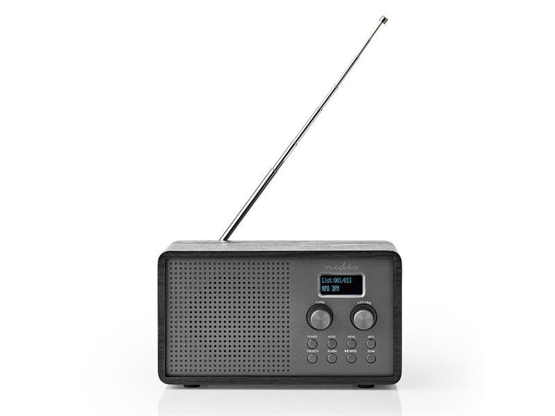 Rádio NEDIS RDDB5110BK