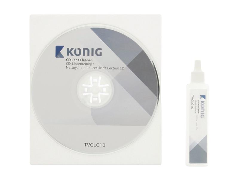 CD čistiace KÖNIG TVCLC10