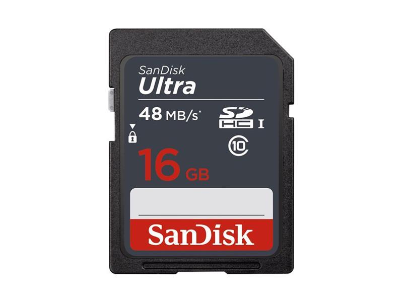 Karta pamäťová SANDISK SDHC 16GB Class 10