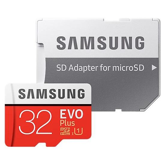 Karta pamäťová SAMSUNG Micro SDHC 32GB Class 10 + adaptér MB-MC32GA/EU