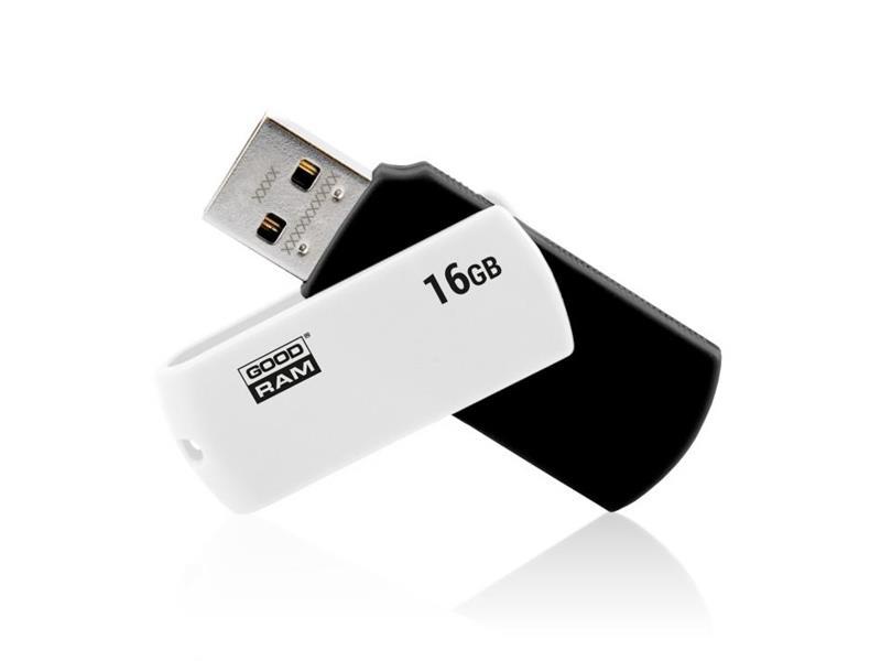 Flash disk GOODRAM USB 2.0 16GB bieločierná