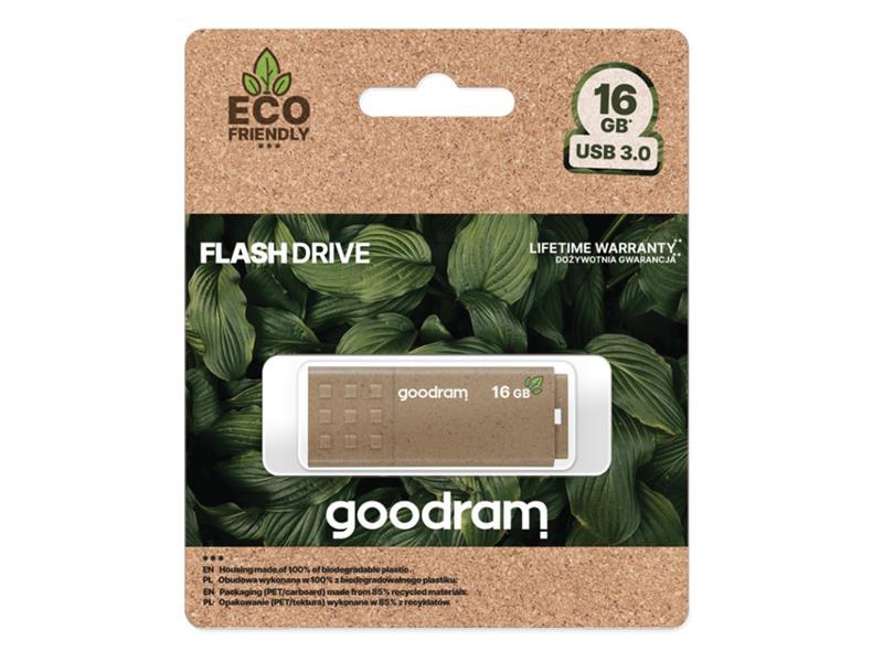 Flash disk GOODRAM USB 3.0 16GB ECO FRIENDLY
