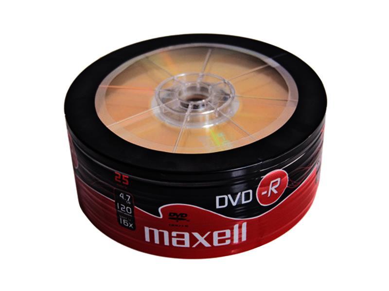 DVD-R 4,7GB MAXELL 16x 25ks