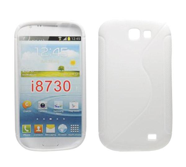 Púzdro silikónové pre Samsung Galaxy S4 Activ, biele