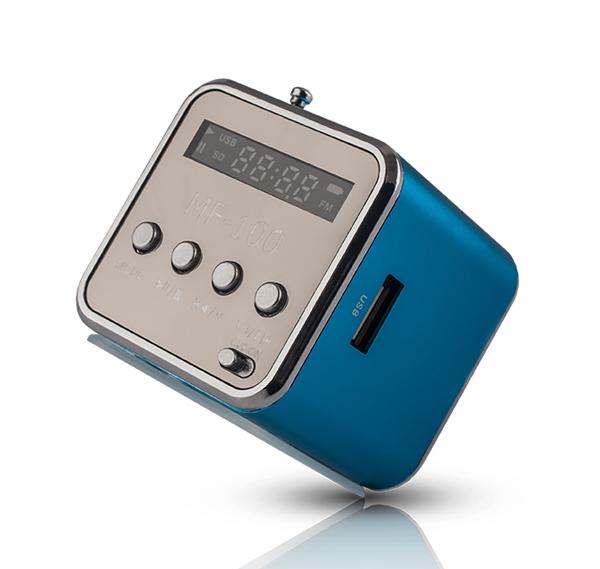 Rádio prenosné FOREVER MF-100 modrá