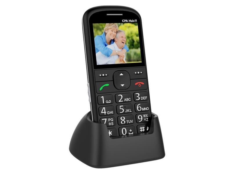 Telefón CPA HALO 11 SENIOR BLACK
