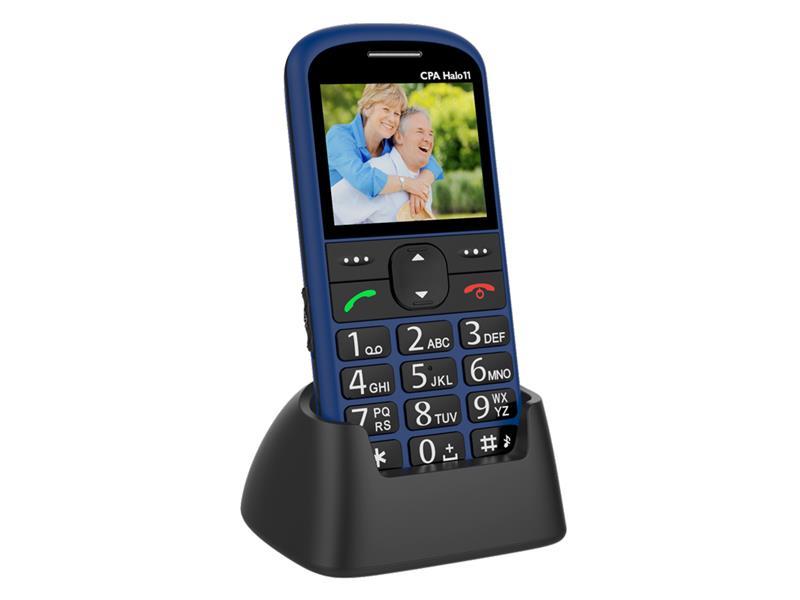 Telefón CPA HALO 11 SENIOR BLUE