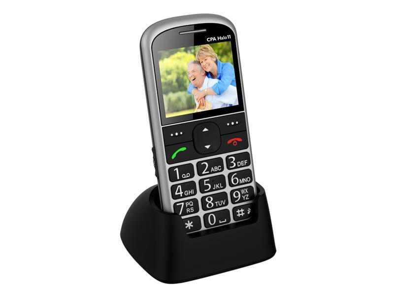 Telefón CPA HALO 11 SILVER