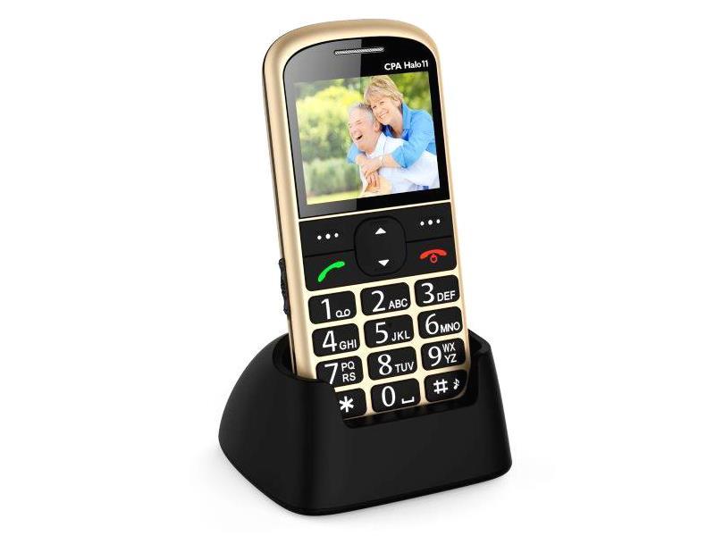 Telefón CPA HALO 11 GOLD