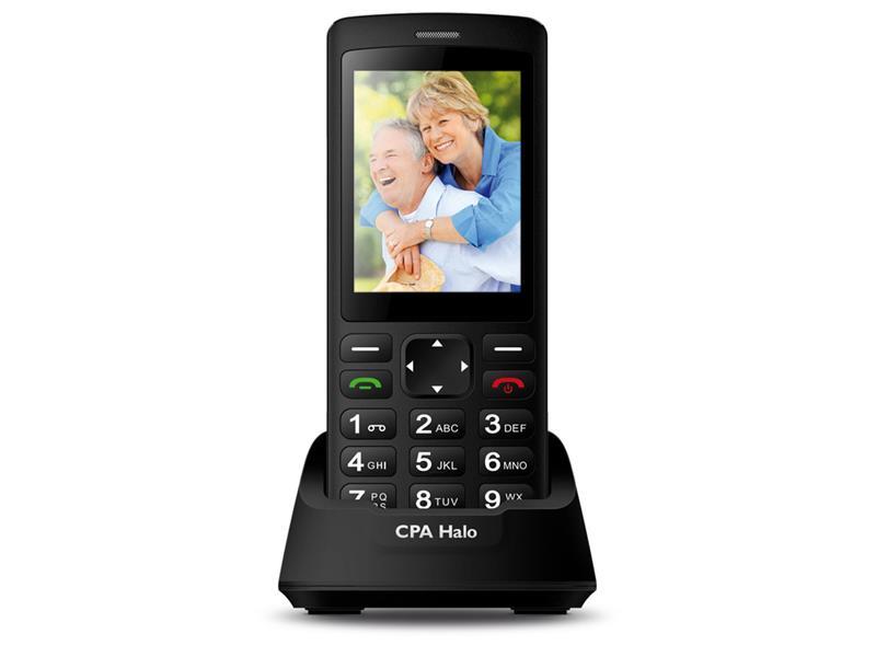 Telefón CPA HALO PLUS BLACK