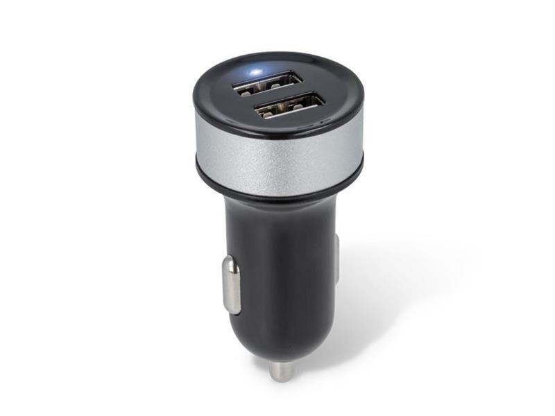 Nabíjačka do auta 2x USB 2100 mAh FOREVER BLACK