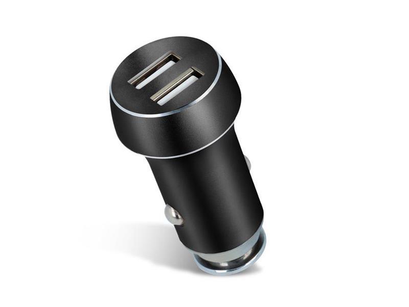 Nabíjačka do auta 2x USB 3100 mAh FOREVER BLACK