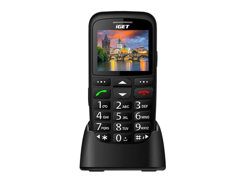 Telefón iGET SIMPLE D7 BLACK